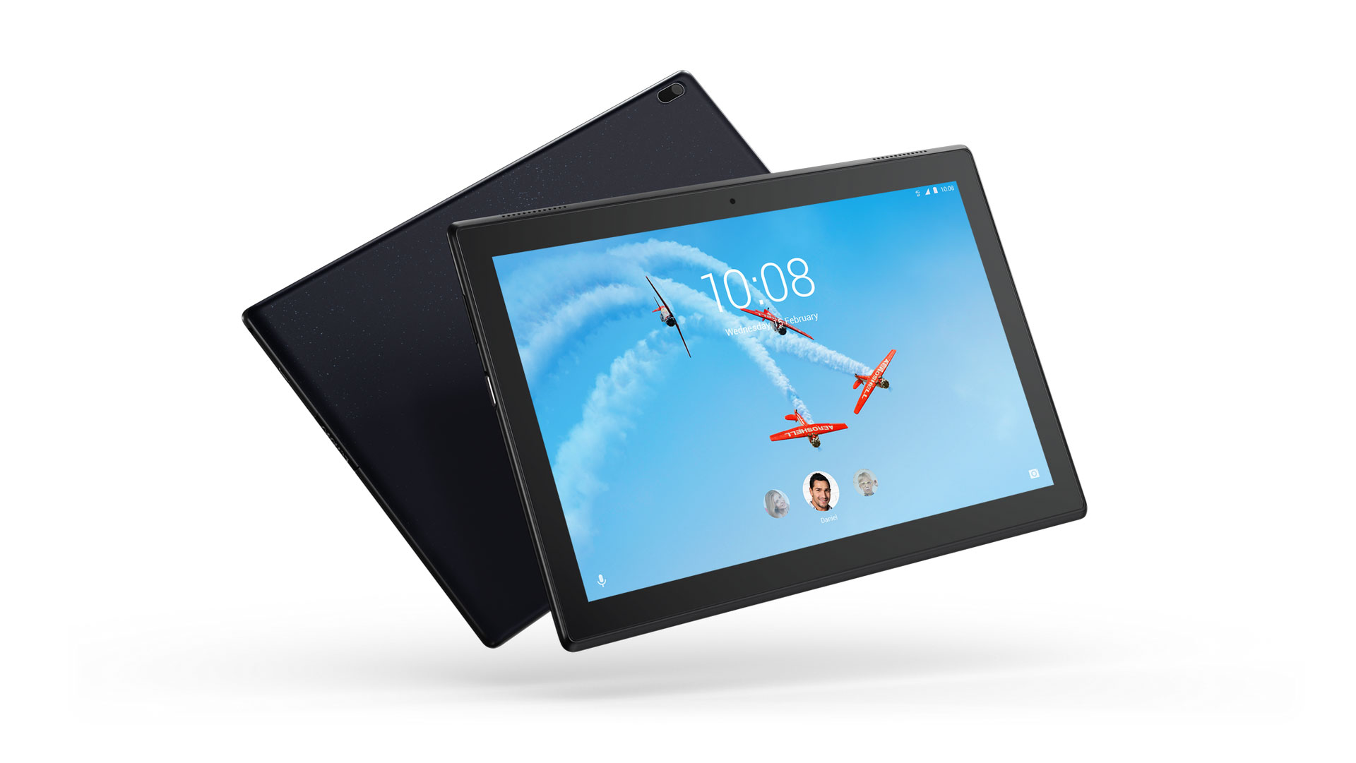 01 Tab4 HD 10inch Hero Thin and light LTE Black